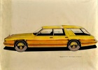 Ford Mustang Royale Wagon Concept Design