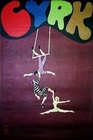 3 acrobats on trapeze