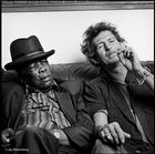 John Lee Hooker and Keith Richards