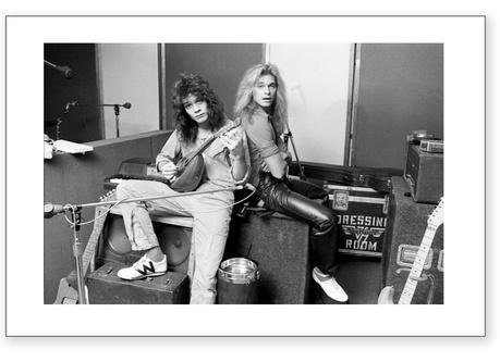Eddie Van Halen David Lee Roth Photography Limited Runs