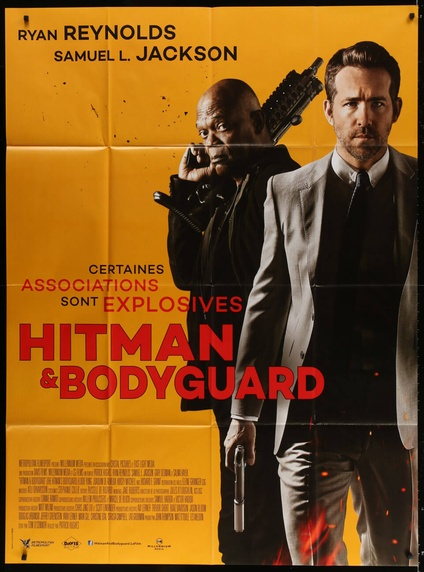 The Hitman S Bodyguard French Grande Movie Posters Limited Runs