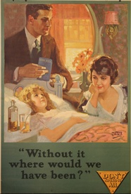 Without It Where Would We Have Been? Banking Poster