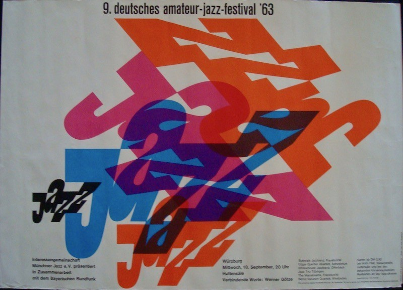 9th German Jazz Amateur Festival: Wurburg 1963