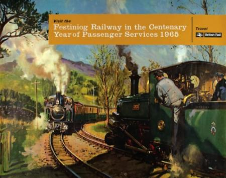 Festiniog Railway In The Centenary Year Of Passenger Services 1965