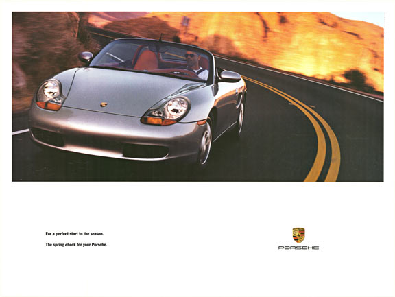 For a perfect start to the Season. The Spring check for your Porsche