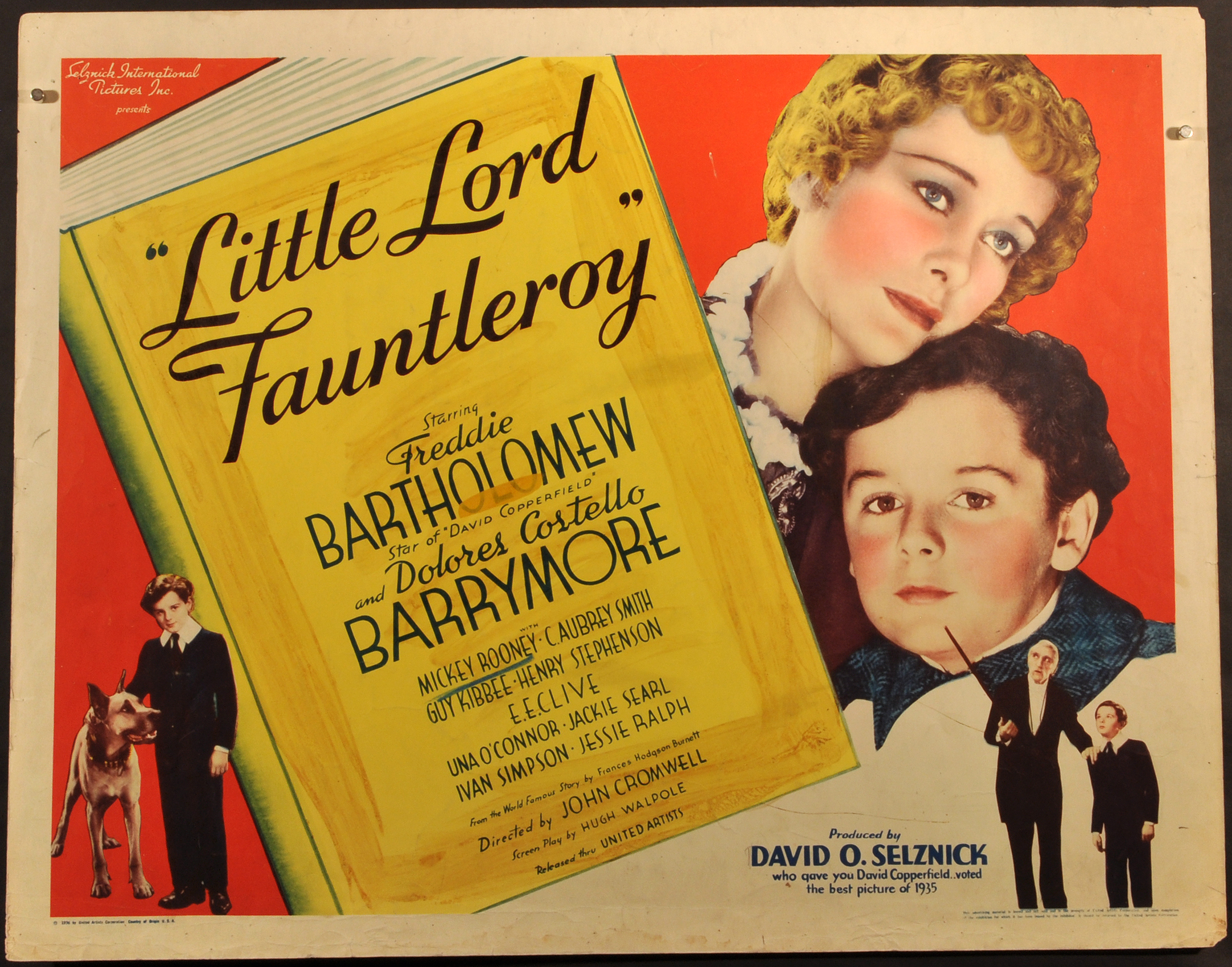 Little Lord Fauntleroy Limited Runs