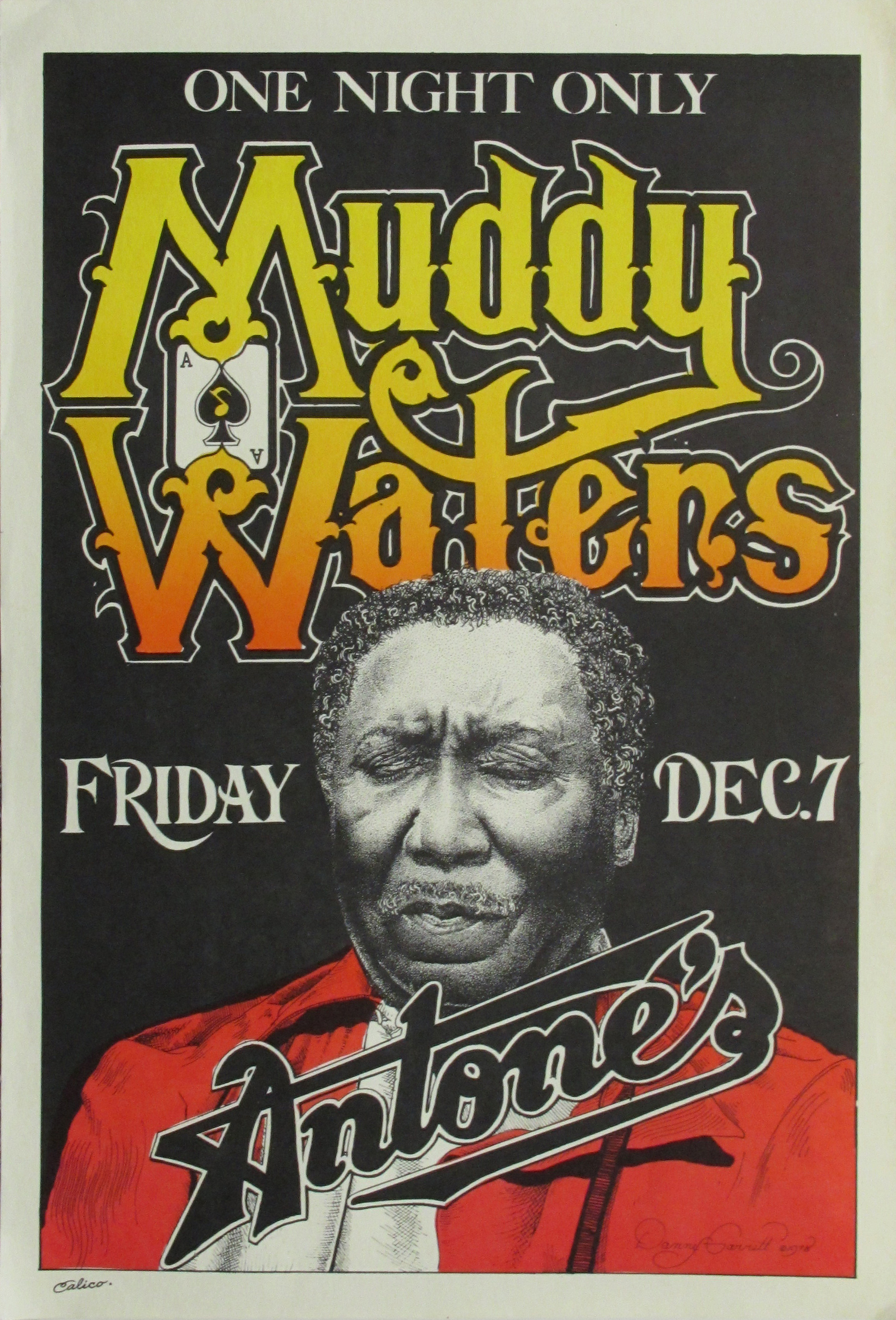 Muddy Waters Original Concert Poster | Limited Runs