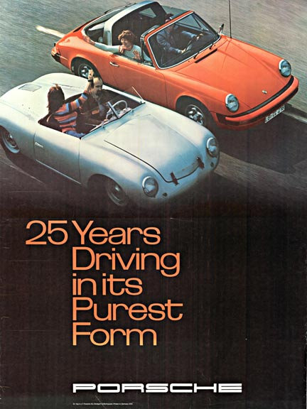Porsche 25 Years Driving in its Purest Form
