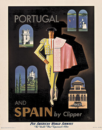 Portugal and Spain by Clipper (S) Pan Am